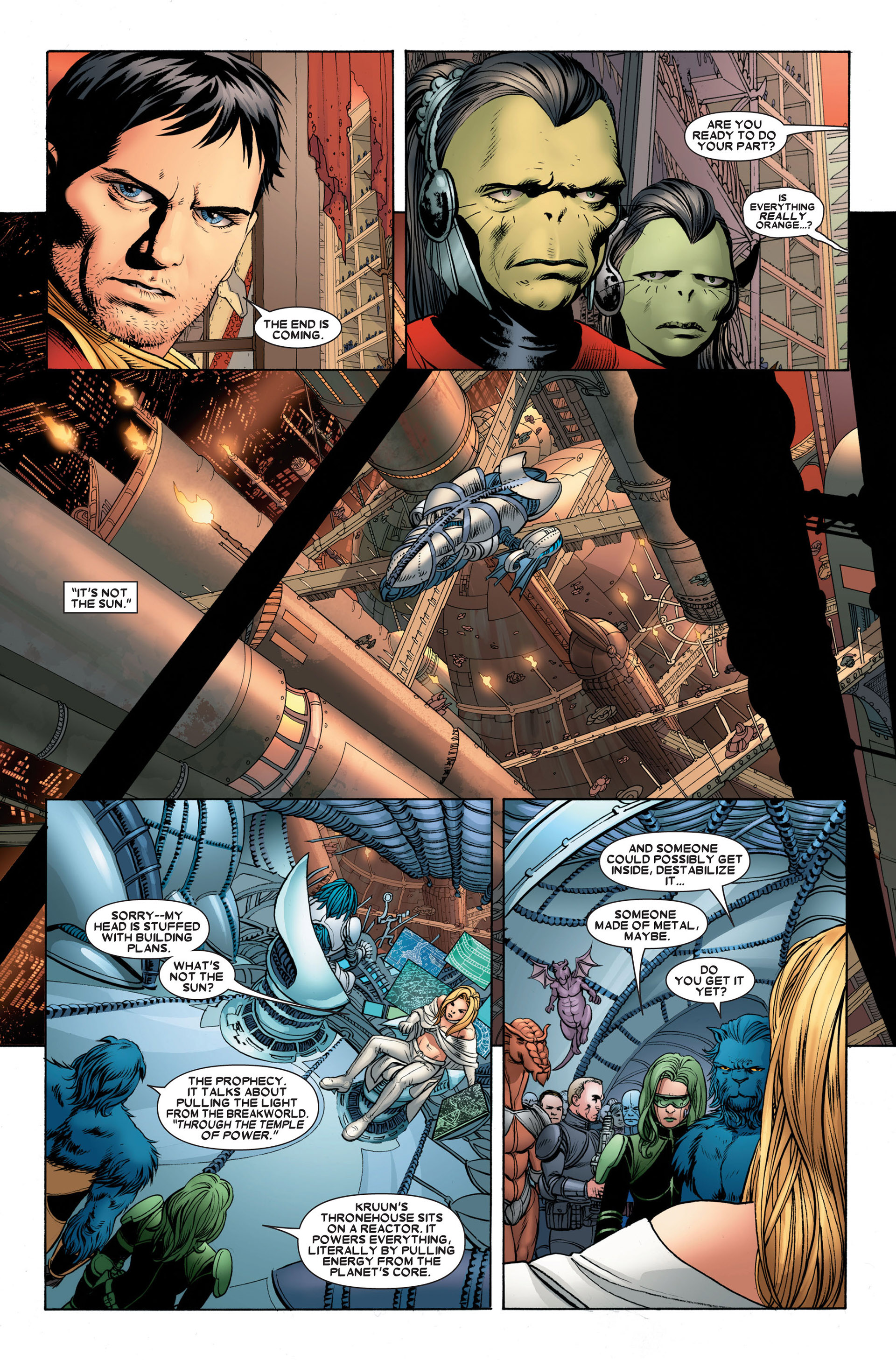 Read online Astonishing X-Men (2004) comic -  Issue #23 - 15
