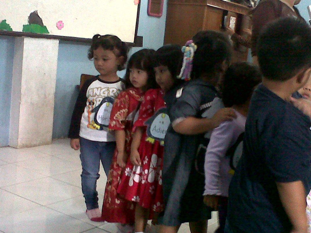 Semuanya Dicampur Firah 1st Day At School Playgroup