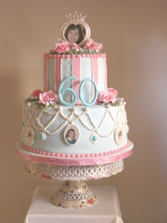 Shabby Chic Th Birthday Cake