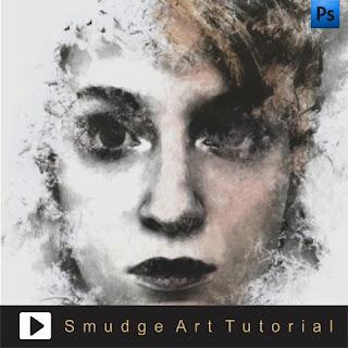 Membuat gambar dengan efek dramatis di photoshop dengan teknik Ink Smudge Effect, Video cara mudah edit foto di photshop dengan teknik Ink Smudge yang dramatis