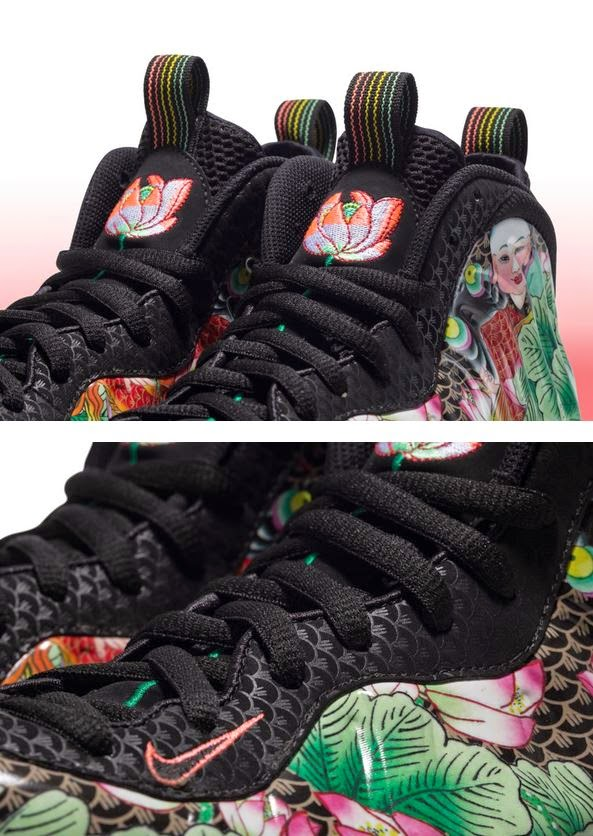 4fb1110faa1 Here is a look at the Nike Air Foamposite One Chinese New Year Sneaker  which looks awesome that should release select retailers on 2 7.