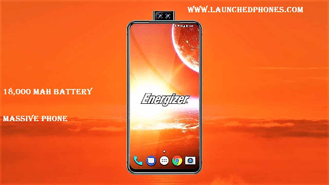 The pricing is non confirmed yesteryear the companionship exactly this scream upwardly tin live launched at the cost o Energizer Power Max P18k Pop mobile scream upwardly launched amongst 18,000mAh biggest battery