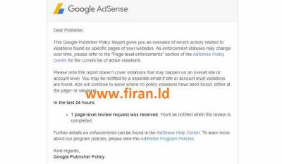 Cara Mengatasi Pelanggaran Traffic Insentif tidak Sesuai Kebijakan Google Adsense
