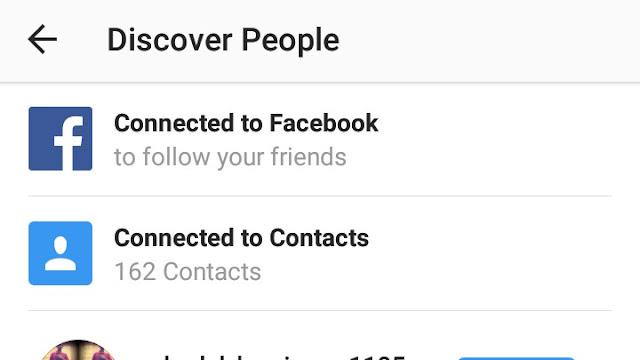 Cara Mengetahui Instagram Teman dari Kontak Hape dan Facebook