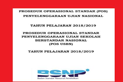 Pos USBN DAN UN Tahun ajaran 2018/2019