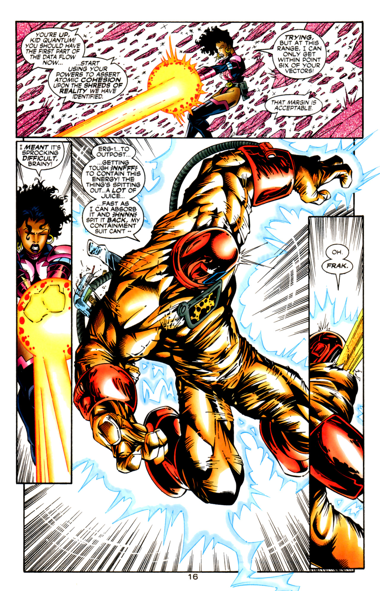 Legion of Super-Heroes (1989) 125 Page 16