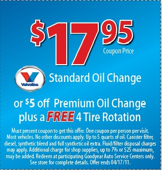 Big O Tires Oil Change Price