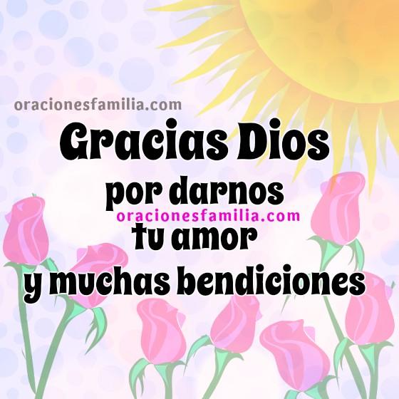 Oración bonita de buenos días, para tener un feliz día, oraciones con imágenes cristianas con lindos mensajes por Mery Bracho.