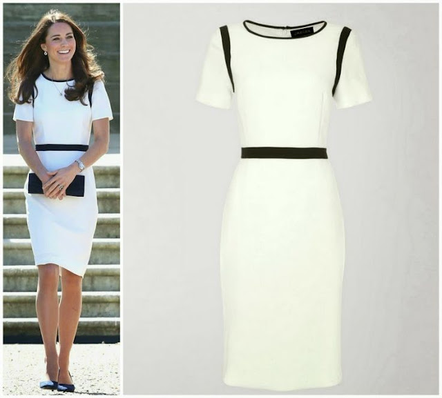 Catherine, Duchess of Cambridge in Jaeger