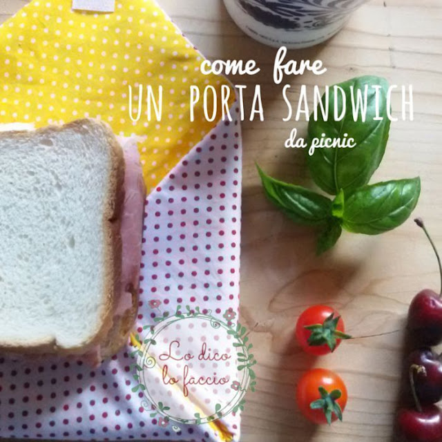 Sacchetto per il sandwich double-face, tutorial