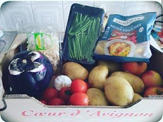 panier invendu fruits légumes