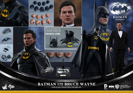 Batman Returns 1/6th scale Batman & Bruce Wayne