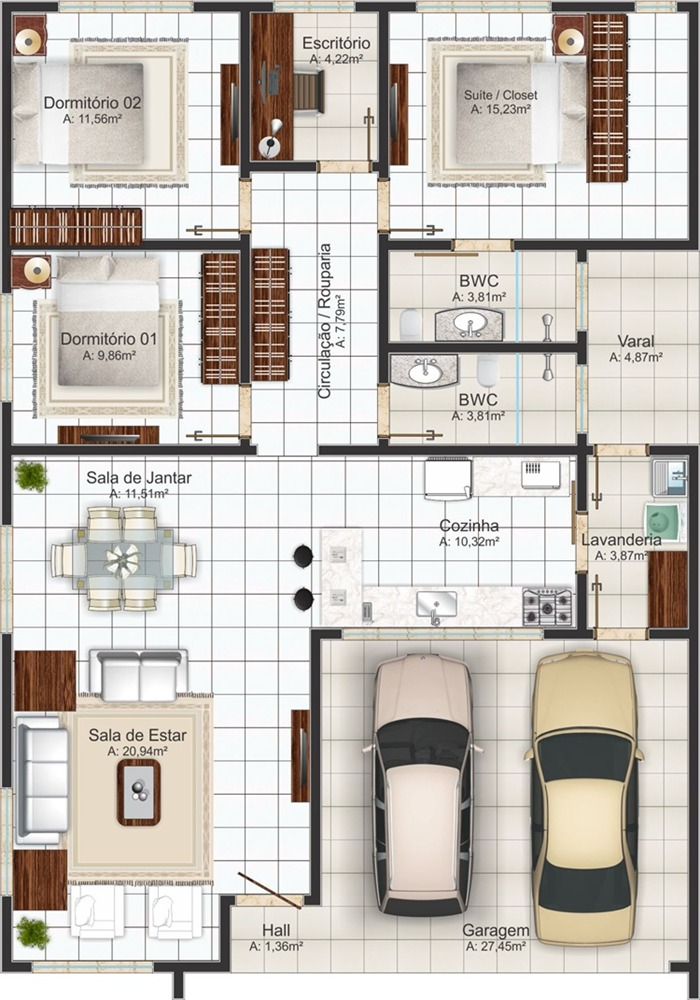 Small Home Blueprints And Floor Plans For Small Lots