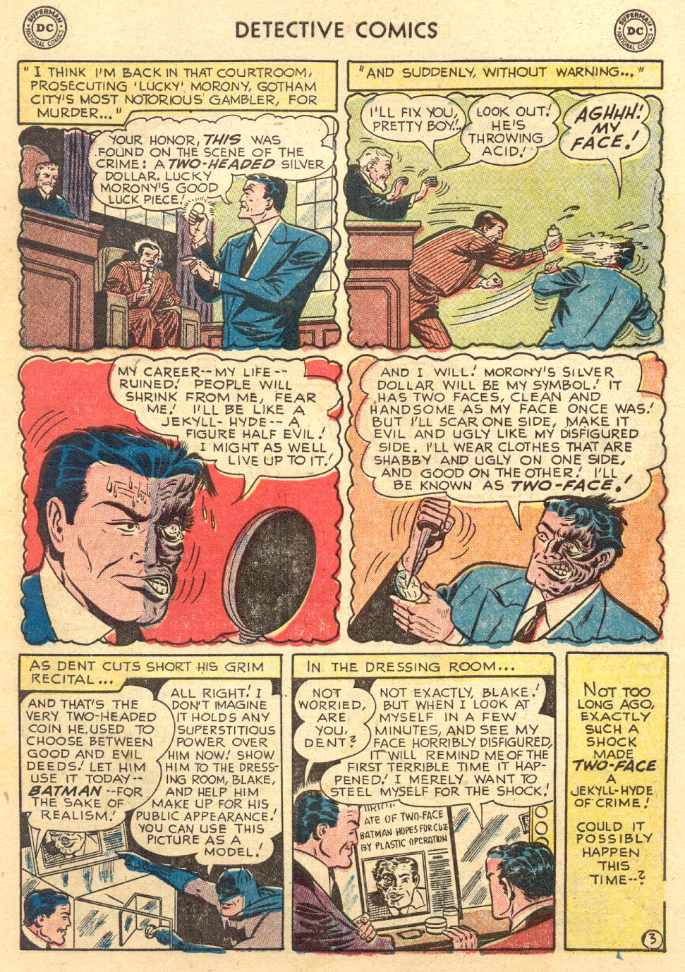 Read online Detective Comics (1937) comic -  Issue #187 - 5