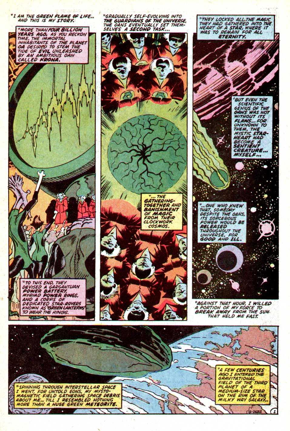 Read online Secret Origins (1986) comic -  Issue #18 - 18