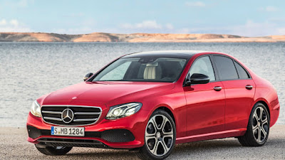 Mercedes-Benz E-Class left side view hd wallpapers