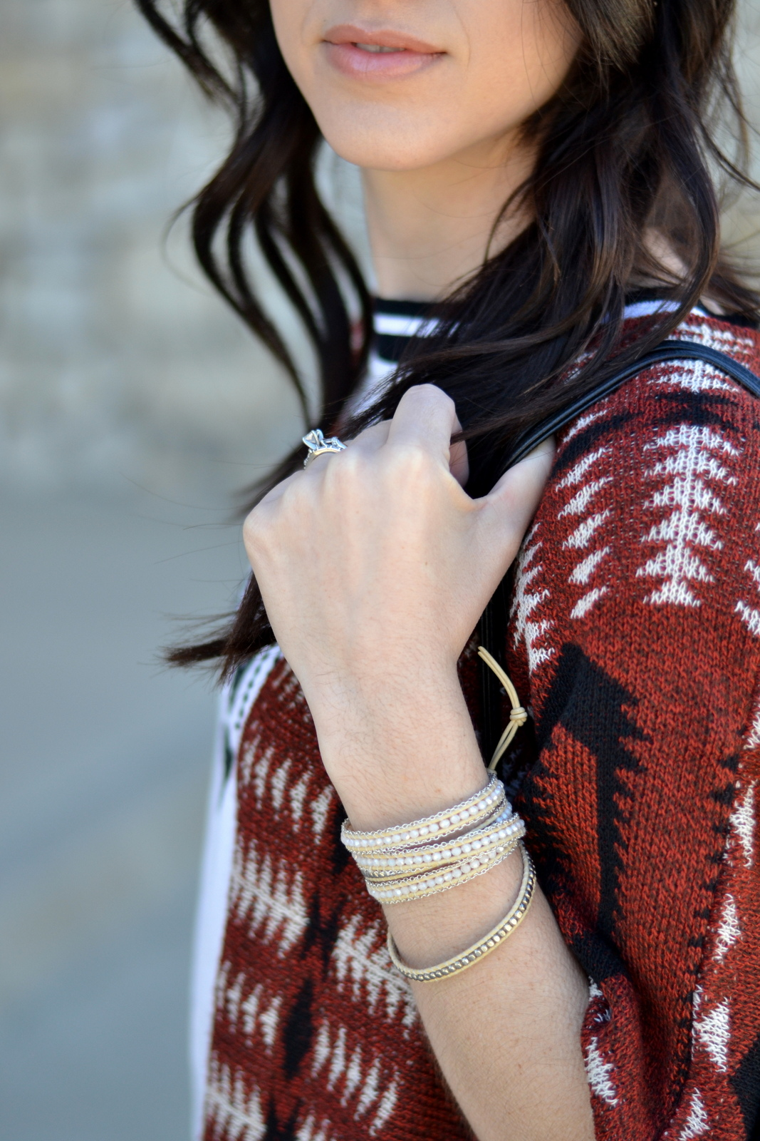 How to wear a wrap bracelet