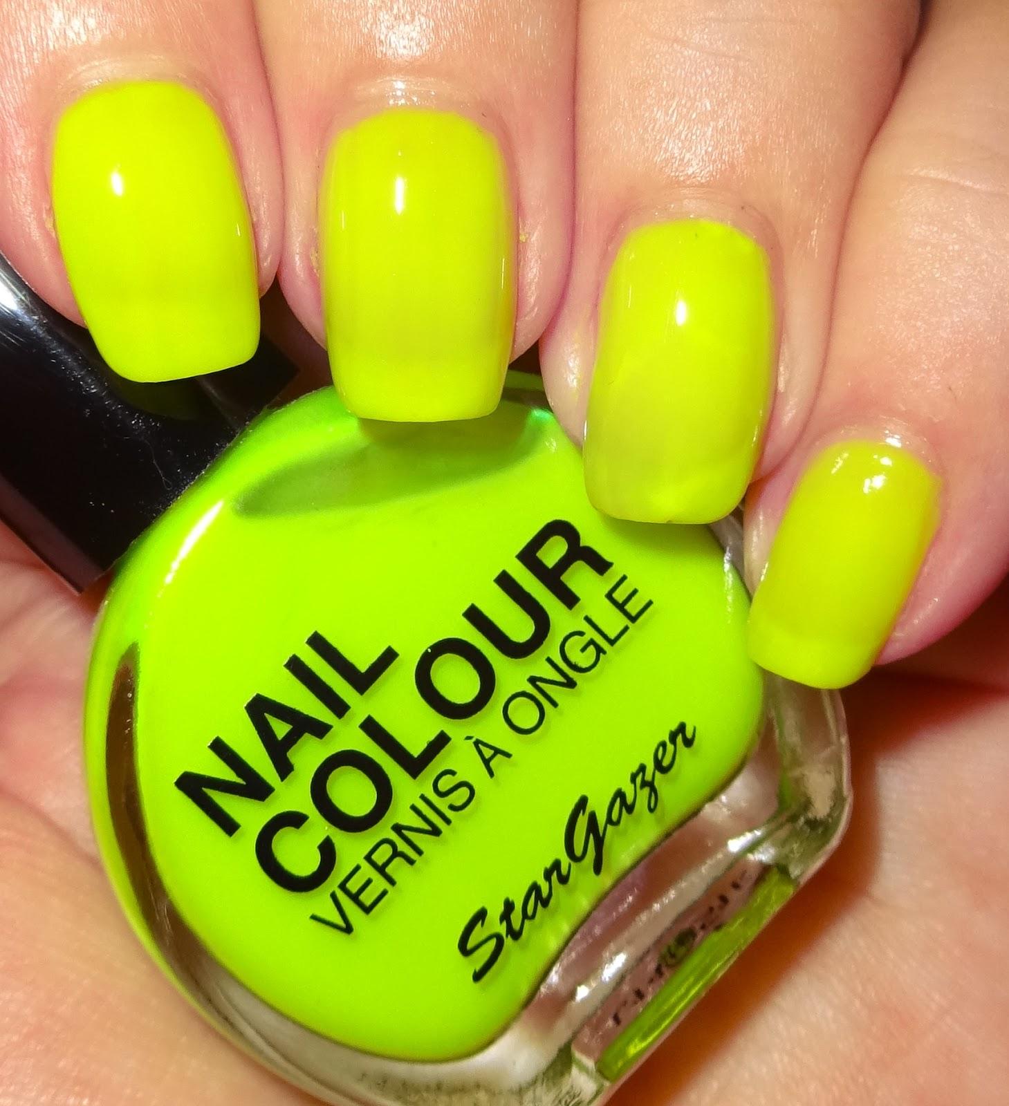 Wendy\'s Delights: Stargazer Neon Yellow Nail Polish