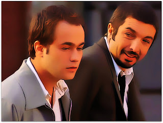 Nove Rainhas - Juan (Gastón Pauls) e Marcos (Ricardo Darín)