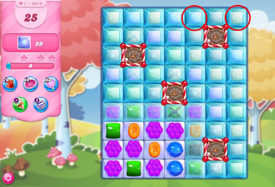 Candy Crush Saga level 5019