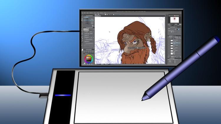 50% off Digital Art 101 : From Beginner to Pro
