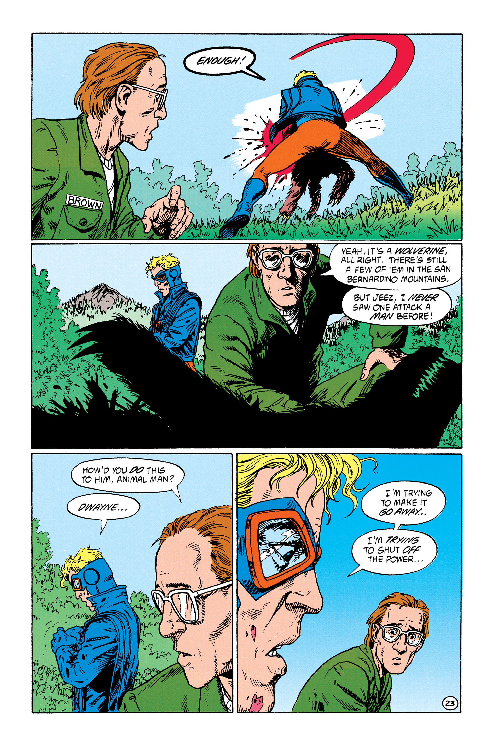 Read online Animal Man (1988) comic -  Issue #33 - 24