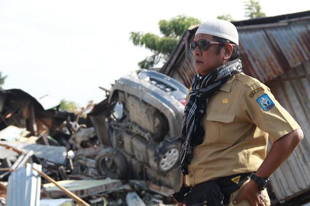 Amran Mahmud Titip Warga Wajo Pada  Kaswadi Razak di Palu