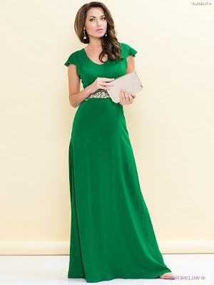 Vestidos de moda color verde