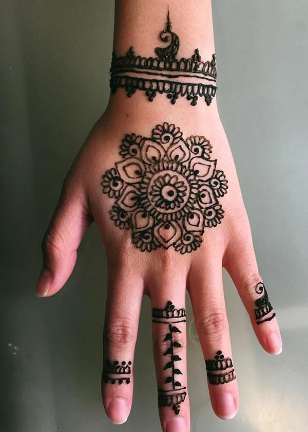 Hand Henna Designs Pics Mehndi Ke Designs New Mehndi