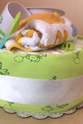 gâteaux de couches prénatal