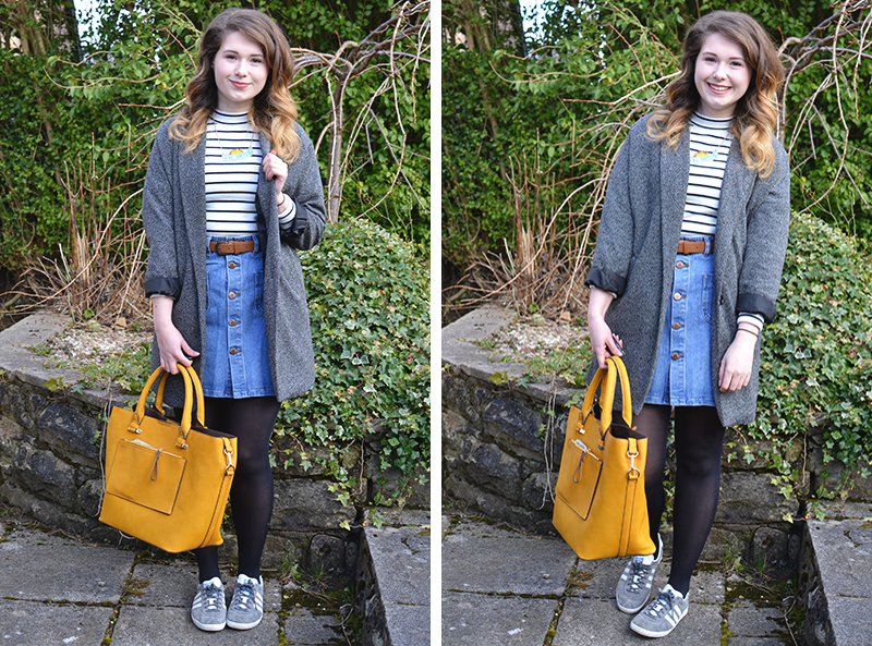 How to style a denim skirt | Colours and Carousels - Scottish Lifestyle, Beauty and Fashion blog