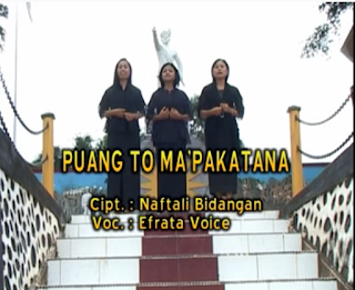 Lirik Lagu Toraja Puang To Ma'pakatana
