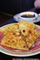 Scallion Pancakes at Cafe China