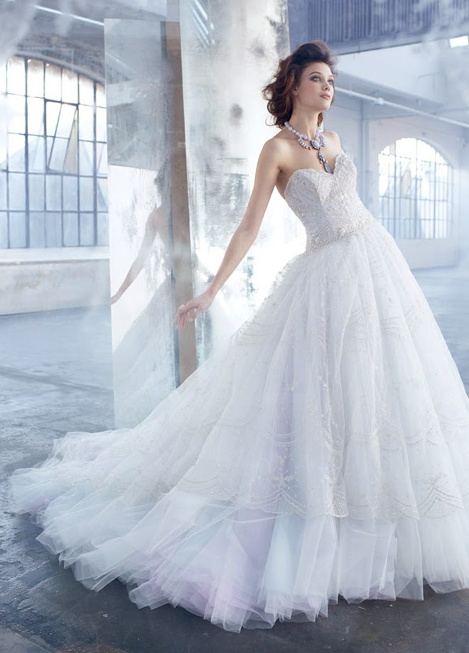 vestidos novia lazaro espana – vestidos de mujer