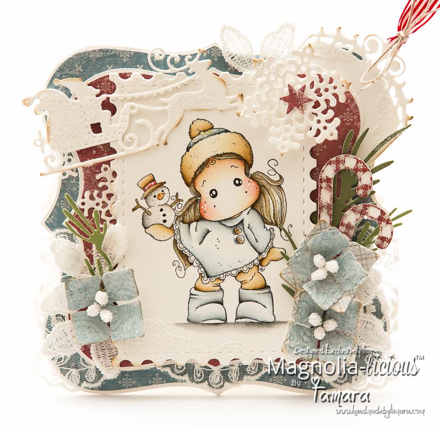 Handmade By Tamara: Tilda With Little Snowy