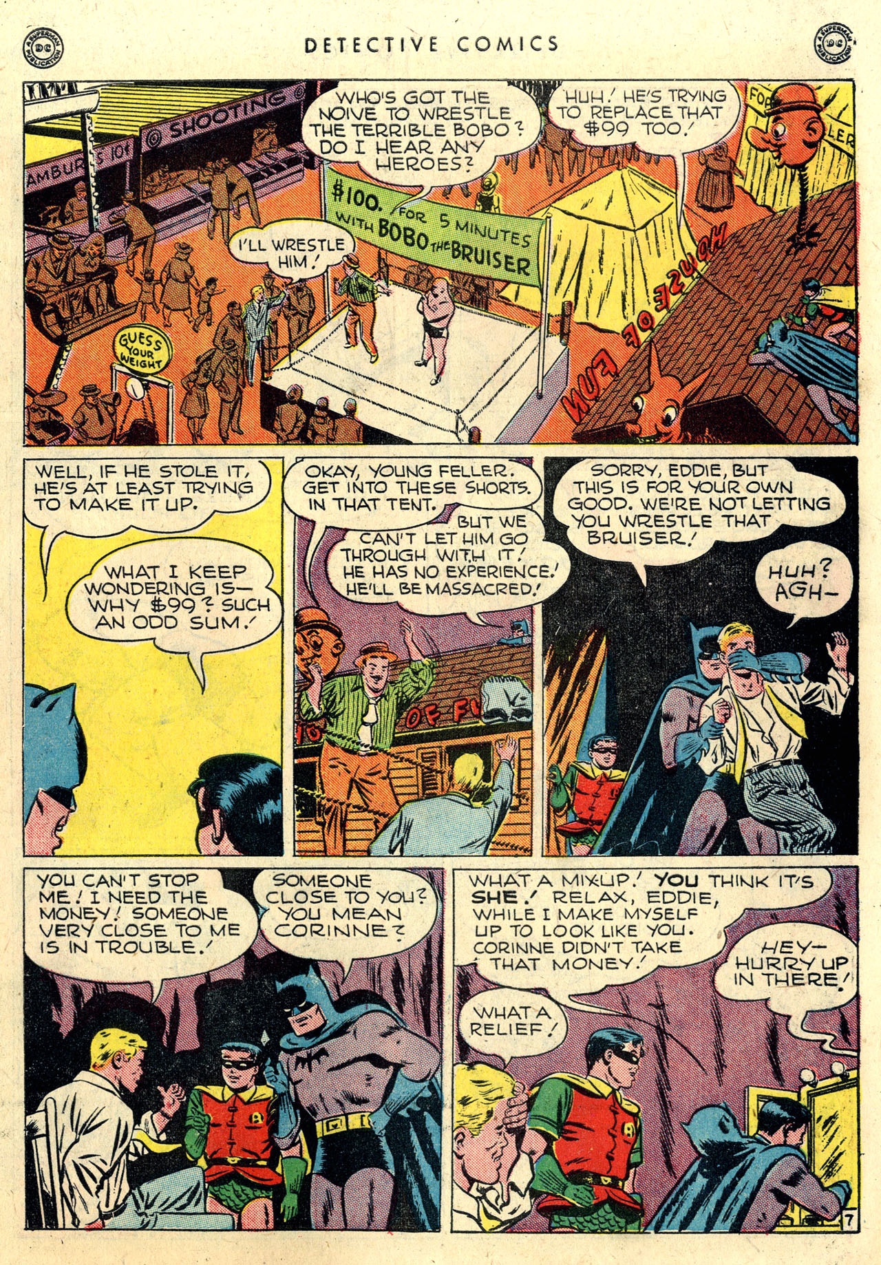 Read online Detective Comics (1937) comic -  Issue #112 - 9