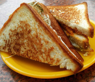 Bhopal Beat | Cheese Sandwich at Sagar Gaire