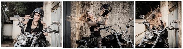moto, jacky simionato, rafael ram, motociclistas, custons, makeup, blond