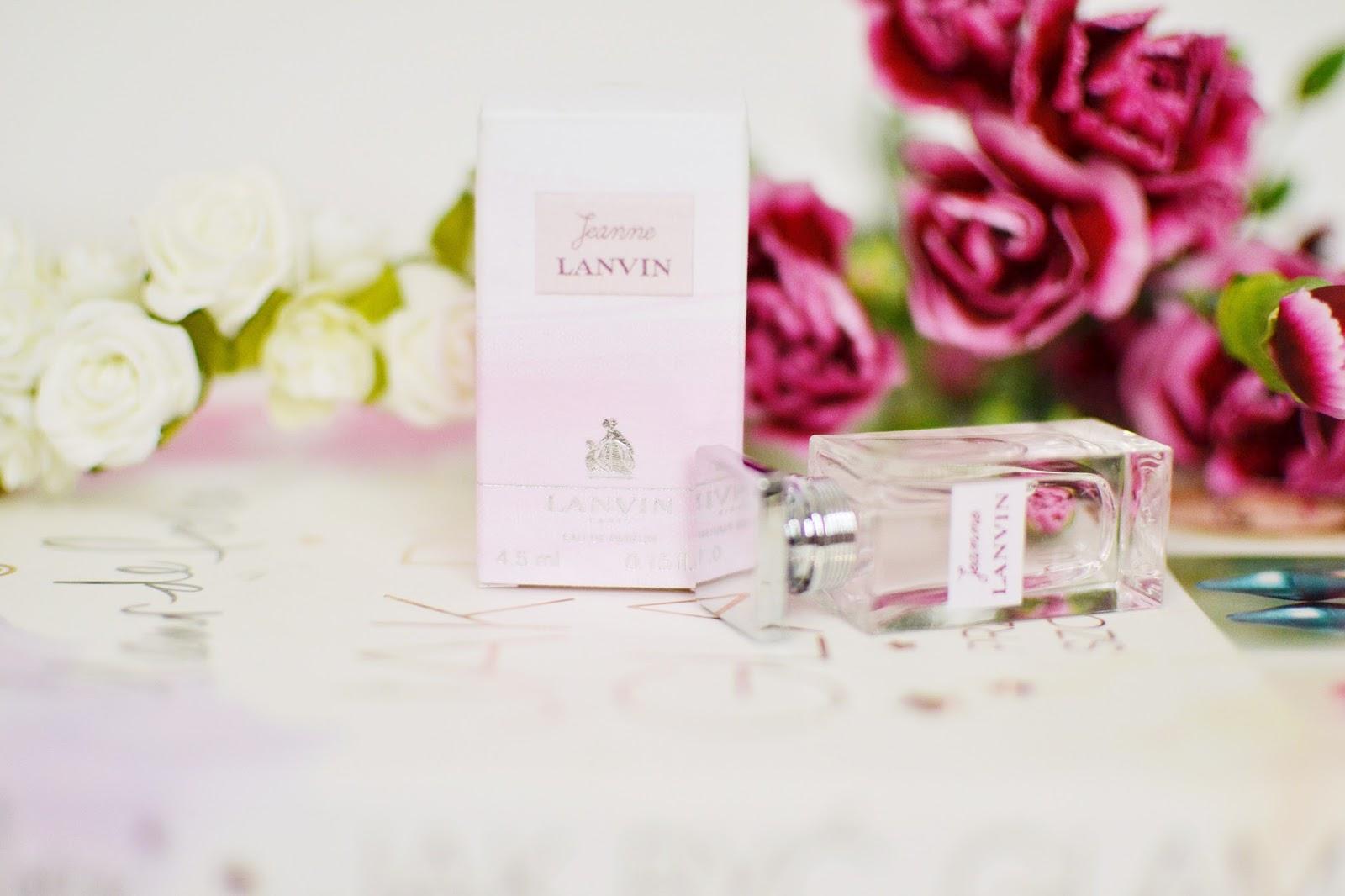 Słodkie, delikatne, cytrusowe perfumy na lato- Lanvin Jeanne