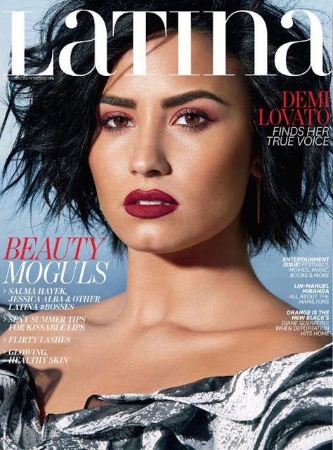 Actress, Singer, Model, @ Demi Lovato - Latina US June / July 2016