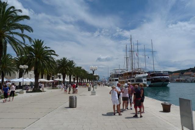 Kroatië, Trogir boulevard