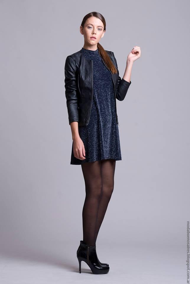 Dominga Dominó invierno 2016 ropa de moda vestidos invierno 2016.