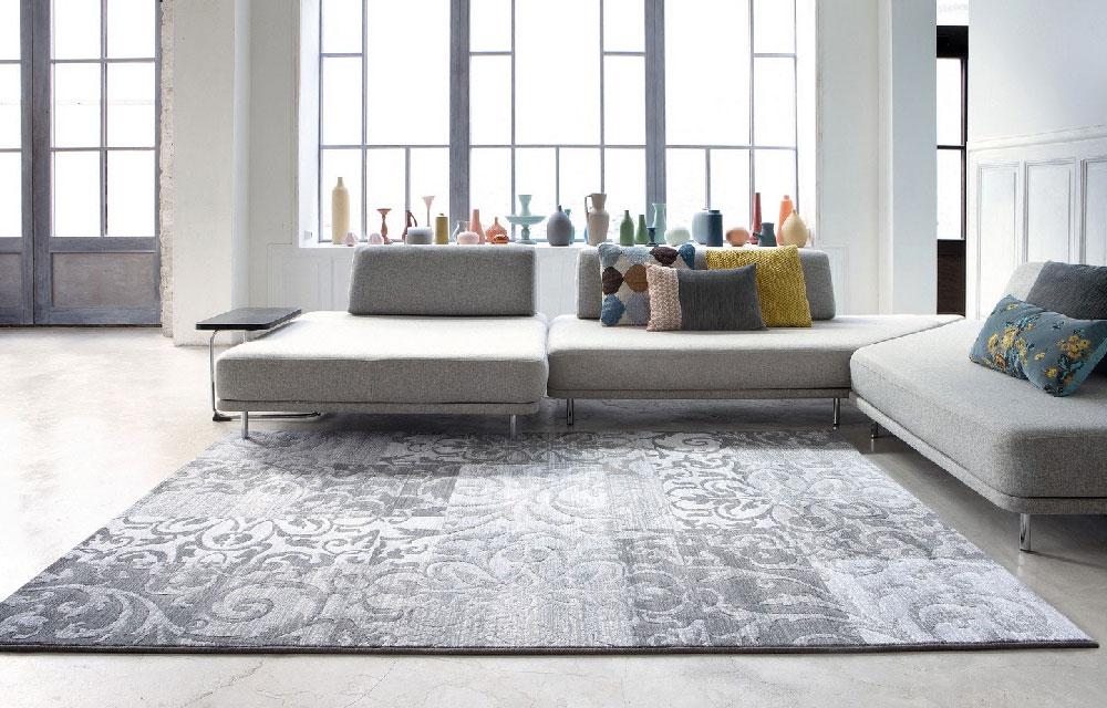 Arredare con i tappeti scopri le collezioni moderne dettagli home decor - Tappeti moderni bagno ...
