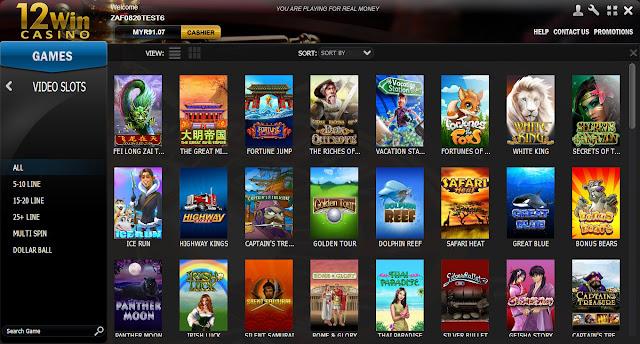 12Win Casino Malaysia