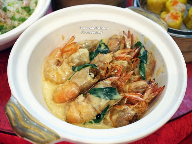 Baked Cheese Prawn with Mantao