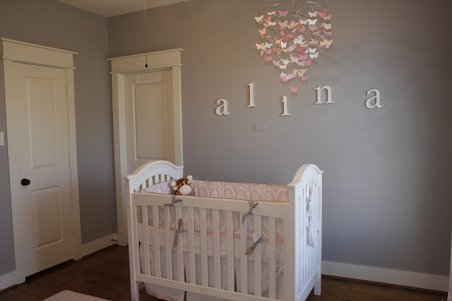 Ikea Glider Shary's Photography Blog: Alina's Pink And Gray Baby Nursery