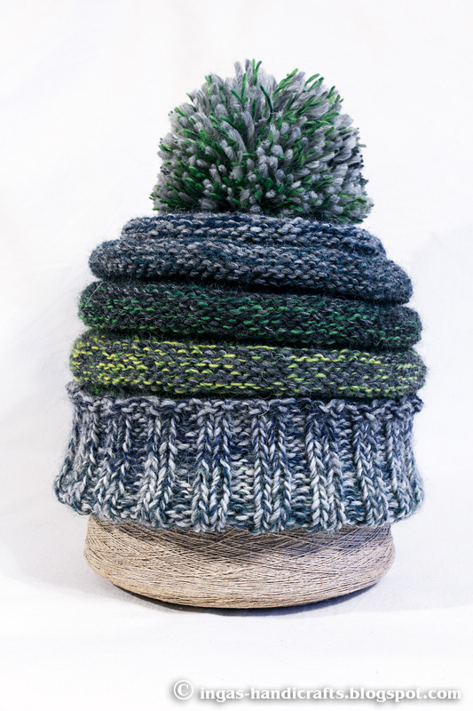 Herilasepesa müts / Wasps Nest Knitted Hat
