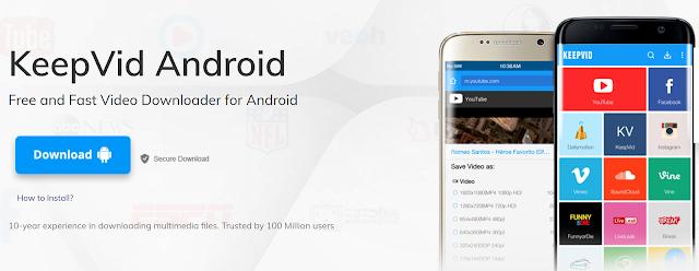 Cara Download Video Youtube Di Android Dengan Keepvid Nawa Cara