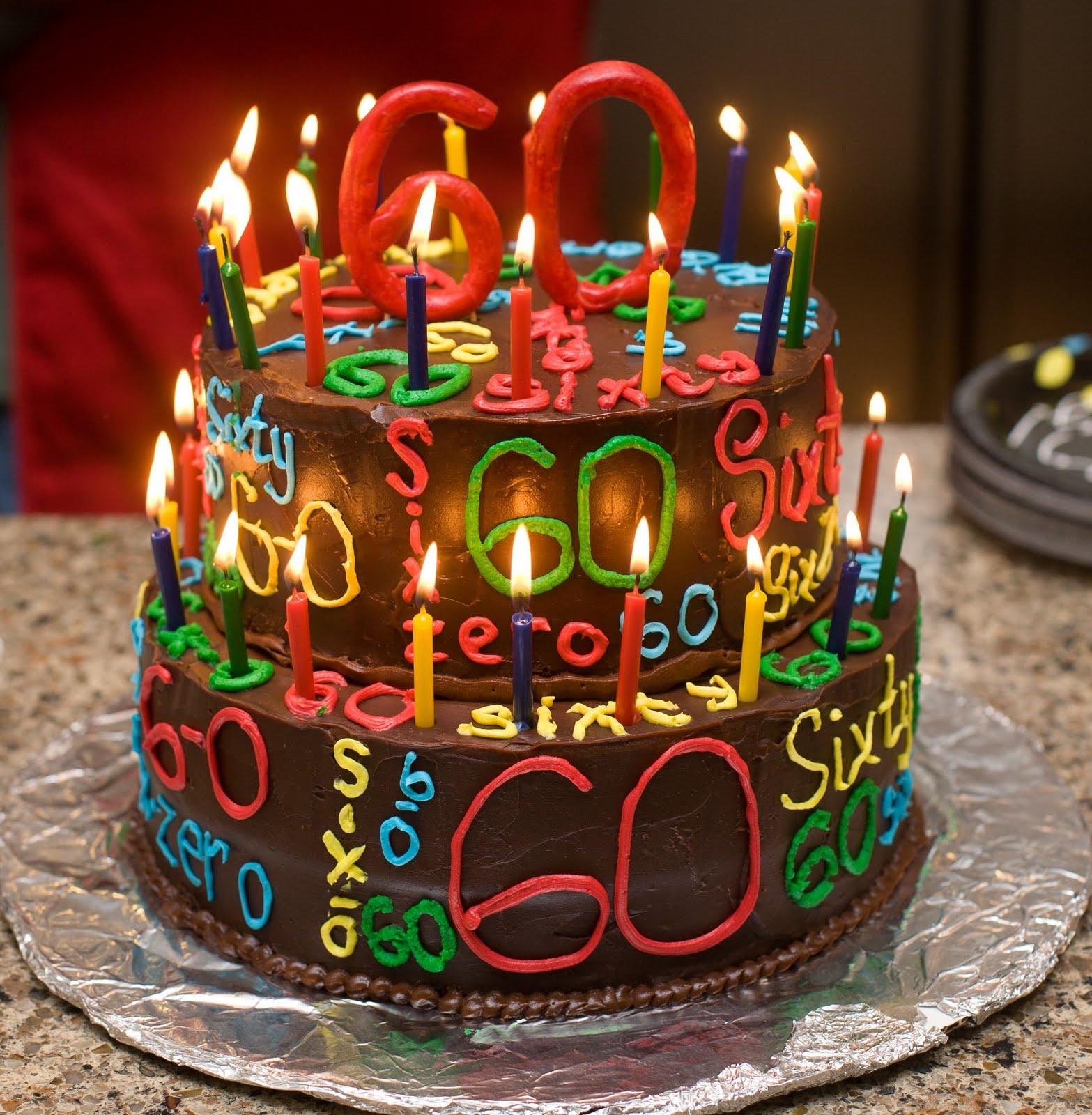 The Happy Caker Happy 60th Birthday
