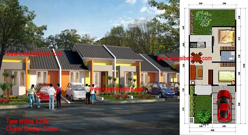 K5 Biro Arsitek Interior Property Garden Grove Citraraya Tangerang New Cluster